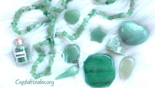 Healing Green Aventurine