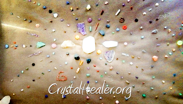The Artistry of Crystal Gridding!