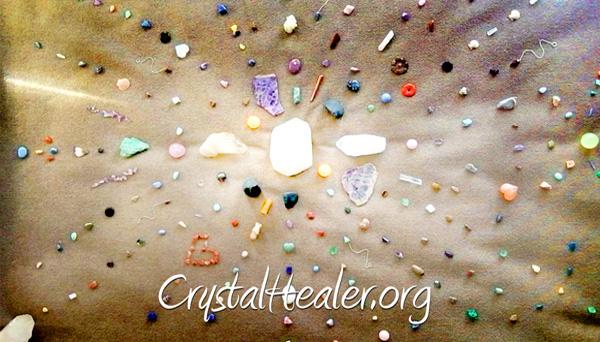 The Artistry of Crystal Gridding!